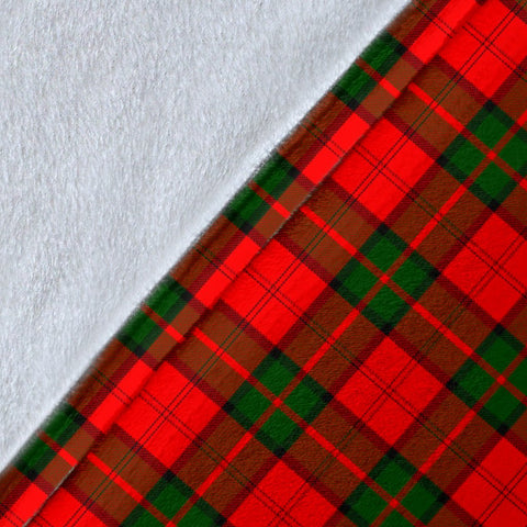 Dunbar Crest Tartan Blanket | Tartan Home Decor | ScottishShop