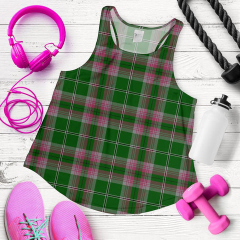ScottishShop Gray Hunting Tartan Women Racerback Tank