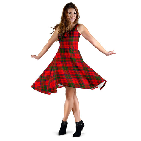 Grant Modern Tartan Dress