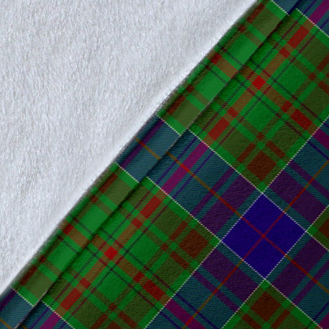 Image of Adam Crest Tartan Blanket | Tartan Home Decor | ScottishShop