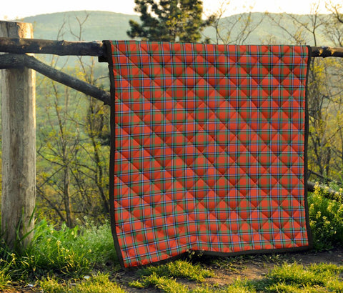 Image of Premium Quilt - Sinclair Ancient Tartan Quilt TH8