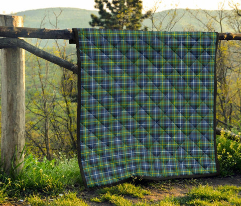 Premium Quilt - MacNeill of Barra Ancient Tartan Quilt TH8