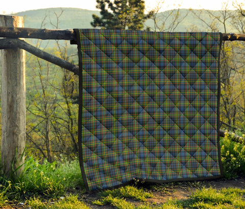 Image of Premium Quilt - MacLellan Ancient Tartan Quilt TH8
