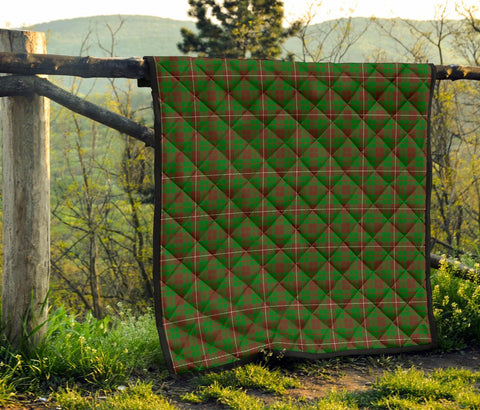 Image of Premium Quilt - MacKinnon Hunting Modern Tartan Quilt TH8