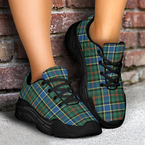 Image of Chunky Sneakers - Tartan Ogilvie Hunting Ancient Shoes