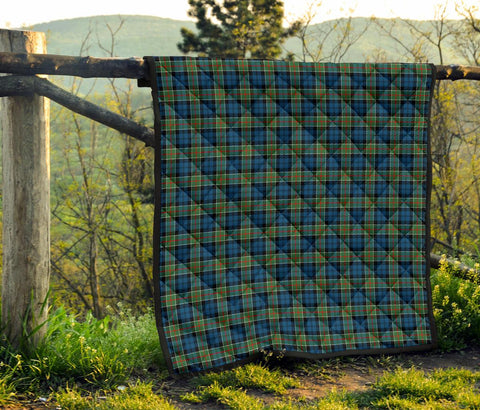 Image of Premium Quilt - Colquhoun Ancient Tartan Quilt TH8