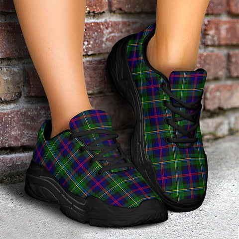 Chunky Sneakers - Tartan Malcolm Modern Shoes