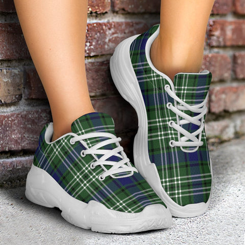 Chunky Sneakers - Tartan Blyth Shoes