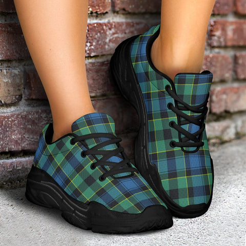 Chunky Sneakers - Tartan Mouat Shoes