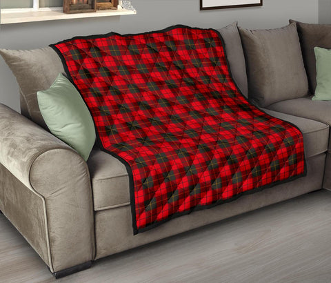Premium Quilt - Wallace Weathered Tartan Quilt TH8