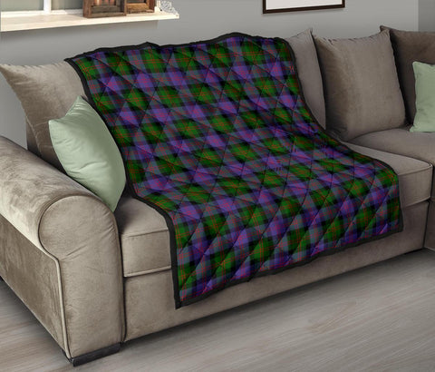 Image of Premium Quilt - Blair Modern Tartan Quilt TH8