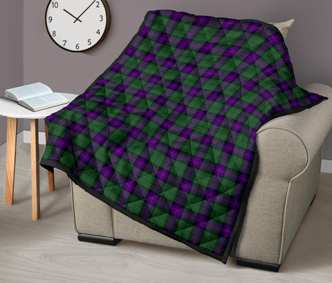 Image of Premium Quilt - Armstrong Modern Tartan Quilt TH8