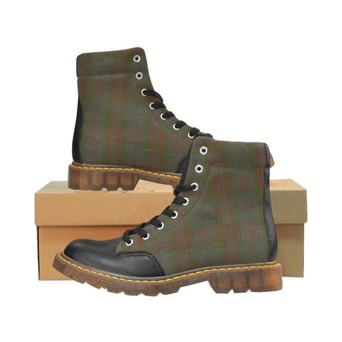 Image of Tartan Apache Boot - Gray | Footwear | Over 500 Tartans