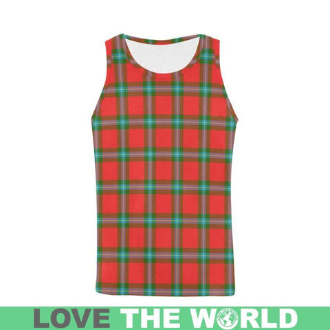 Maclaine Of Loch Buie Tartan All Over Print Tank Top Nl25 S / Women Tops