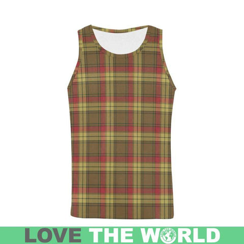 Image of Macmillan Old Weathered Tartan All Over Print Tank Top Nl25 S / Women Tops