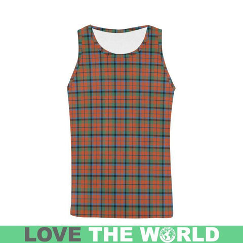 Macnaughton Ancient Tartan All Over Print Tank Top Nl25 S / Women Tops