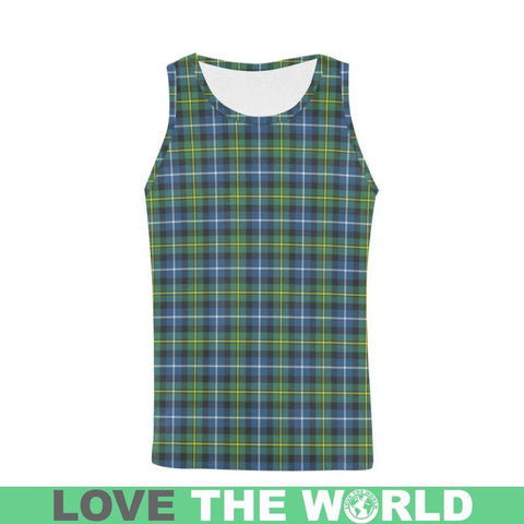 Macneill Of Barra Ancient Tartan All Over Print Tank Top Nl25 S / Women Tops