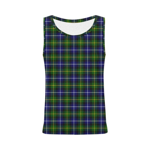 Macneill Of Barra Modern Tartan All Over Print Tank Top Nl25 S / Women Tops