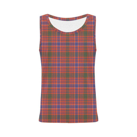 Macrae Ancient Tartan All Over Print Tank Top Nl25 S / Women Tops