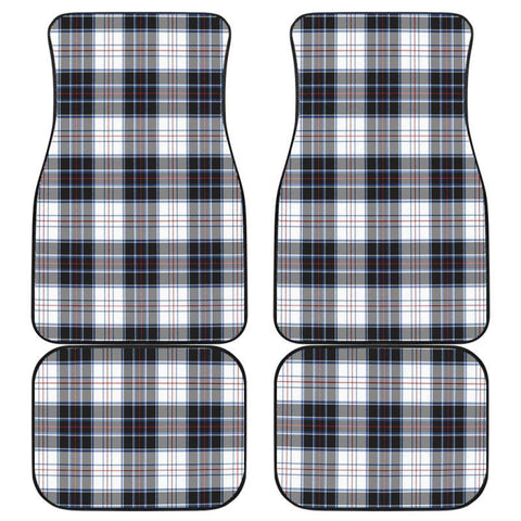 Car Floor Mats - Clan Macrae Dress Modern Plaid Tartan Car Mats - 4 Pieces