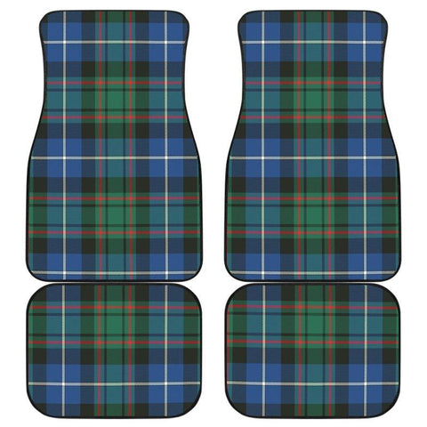Car Floor Mats - Clan Macrae Hunting Ancient Plaid Tartan Car Mats - 4 Pieces