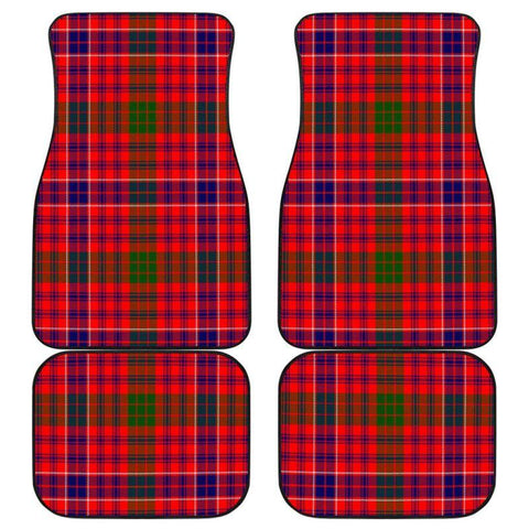 Car Floor Mats - Clan Macrae Modern Plaid Tartan Car Mats - 4 Pieces