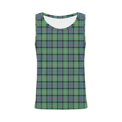 Macthomas Ancient Tartan All Over Print Tank Top Nl25 S / Women Tops
