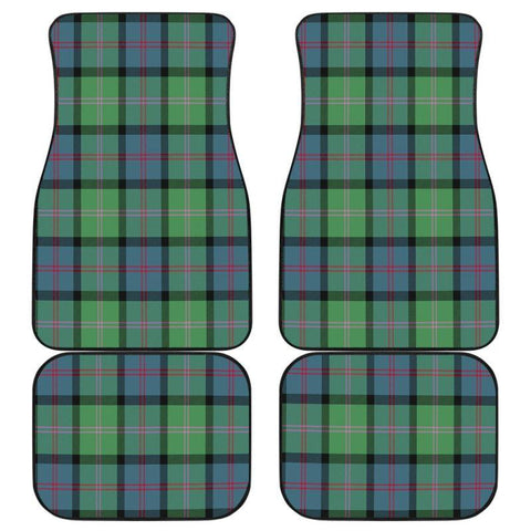 Car Floor Mats - Clan Macthomas Ancient Plaid Tartan Car Mats - 4 Pieces