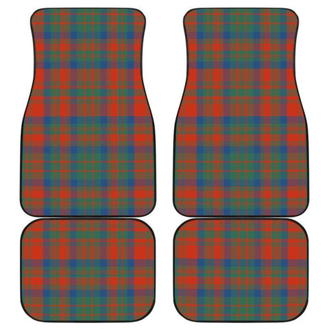 Car Floor Mats - Clan Matheson Ancient Plaid Tartan Car Mats - 4 Pieces