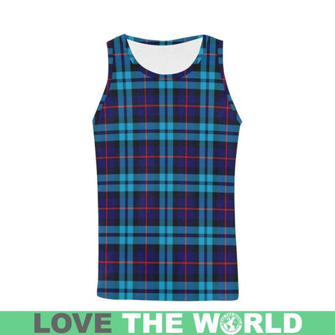 Image of Mccorquodale Tartan All Over Print Tank Top Nl25 S / Women Tops
