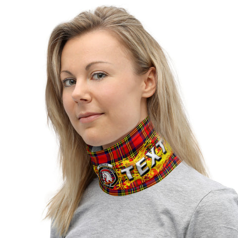 Image of Custom Neck Gaiter - Hepburn Tartan Neck Gaiter