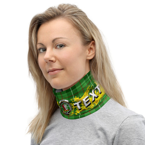 Image of Custom Neck Gaiter - boyle Tartan Neck Gaiter