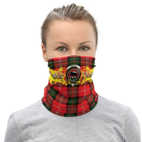 Image of Tartan Neck Gaiter - Nesbitt Clan Neck Gaiter VER3