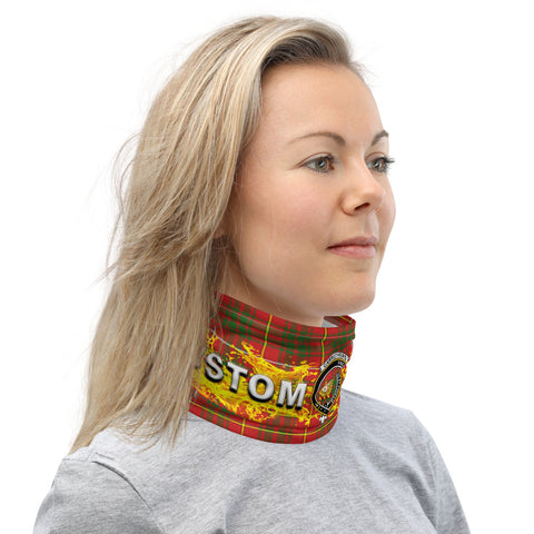 Custom Neck Gaiter - Carruthers Tartan Neck Gaiter