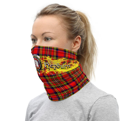 Image of Tartan Neck Gaiter - Hepburn Clan Neck Gaiter