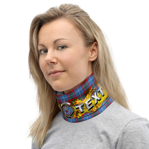 Image of Custom Neck Gaiter - Spalding Tartan Neck Gaiter