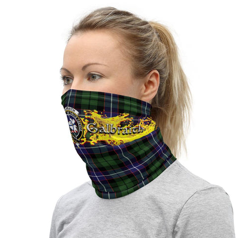 Image of Tartan Neck Gaiter - Galbraith Clan Neck Gaiter