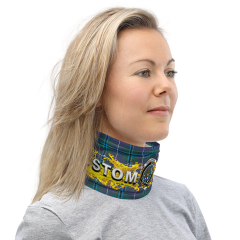 Image of Custom Neck Gaiter - Sandilands Tartan Neck Gaiter