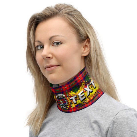 Custom Neck Gaiter - Charteris (Earl of Wemyss) Tartan Neck Gaiter