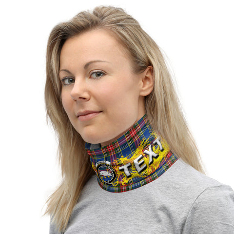 Image of Custom Neck Gaiter - Bethune Tartan Neck Gaiter