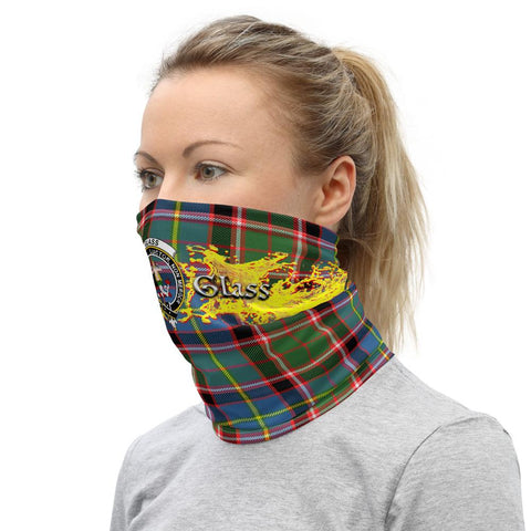 Tartan Neck Gaiter - Glass Clan Neck Gaiter (combo 10)