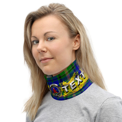 Image of Custom Neck Gaiter - Maitland Tartan Neck Gaiter