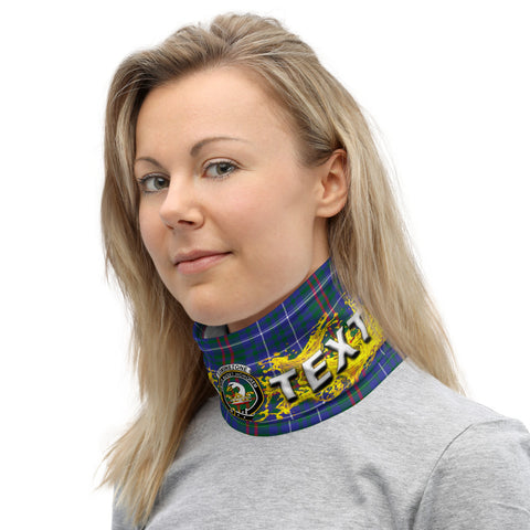 Custom Neck Gaiter - Edmonstone (of Duntreath) Tartan Neck Gaiter