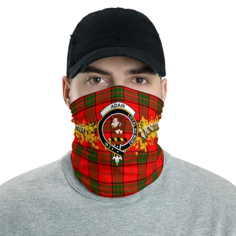 Tartan Adair - Clan Adair Crest Neck Gaiter