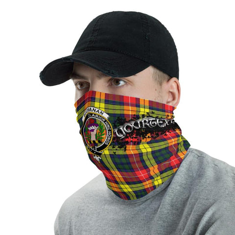 Image of Tartan Buchannan - Clan Buchannan Crest Neck Gaiter