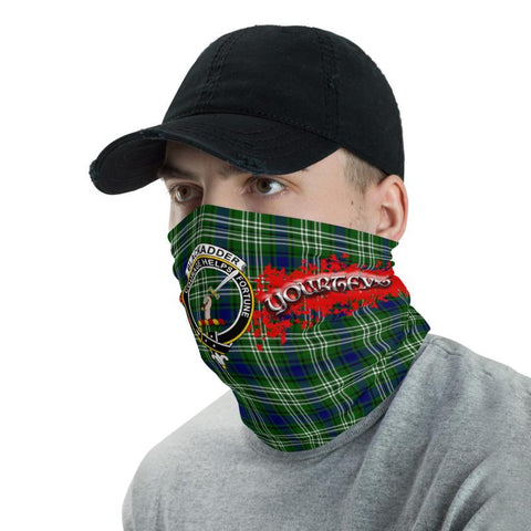 Tartan Blackadder - Clan Blackadder Crest Neck Gaiter