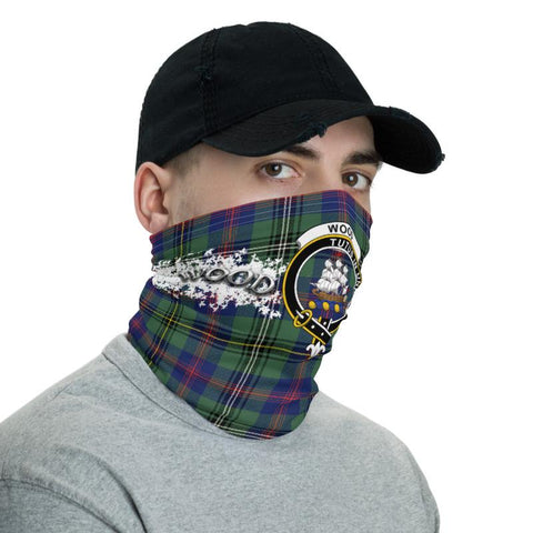 Tartan Wood - Clan Wood Crest Neck Gaiter