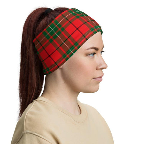 Image of Tartan Macaulay - Clan Macaulay Crest Neck Gaiter