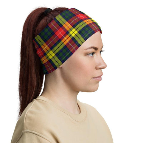 Tartan Buchannan - Clan Buchannan Crest Neck Gaiter
