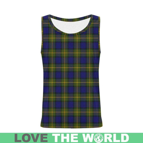 More_Muir Tartan All Over Print Tank Top Nl25 Xs / Men Tops